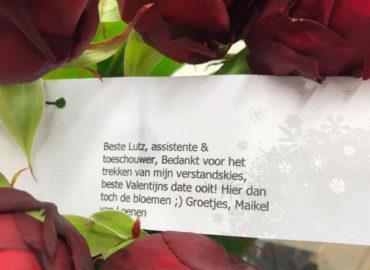 Valentijnsdag voor Lutz!