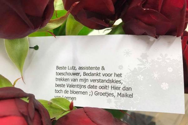 Valentijn voor Lutz